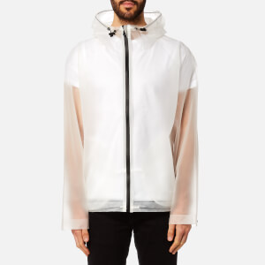 Hunter Men's Original Vinyl Windcheater Jacket - Desert White