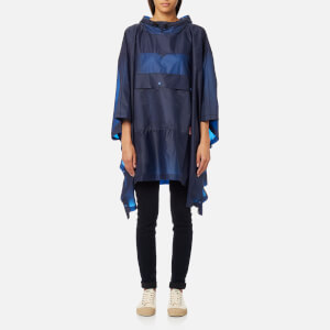 Hunter Original Clear Poncho - Tarp Blue