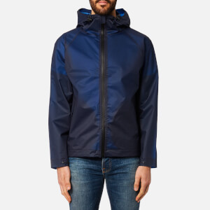 Hunter Men's Original Vinyl Windcheater Jacket - Tarp Blue