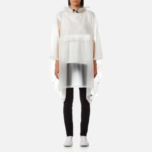 Hunter Original Clear Poncho - Desert White