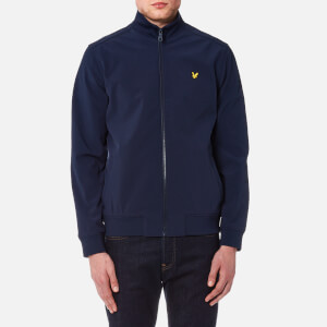 Lyle & Scott Men's Zip Through Funnel Neck Soft Shell Jacket - Navy