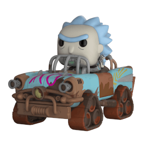 Rick and Morty Mad Max Rick Pop! Vinyl Figur