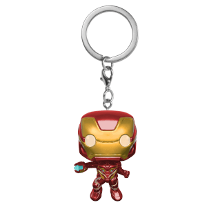 Llavero Pocket Pop! Iron Man - Marvel Vengadores: Infinity War