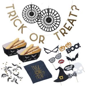Ginger Ray 'Trick or Treat' 6 Piece Party Bundle