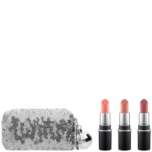 KIT MINI BARRAS DE LABIOS MAC SNOW BALL MINI LIPSTICK KIT – COOL