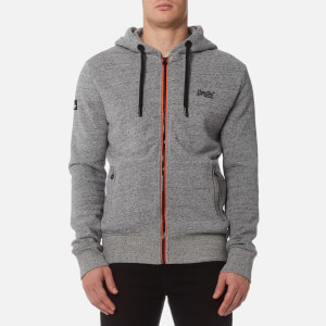 Superdry Men's Orange Label Urban Flash Zip Hoody - Urban Grey Grit