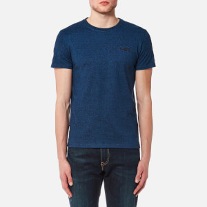Superdry Men's Orange Label Urban Flash T-Shirt - Blue Black Grit
