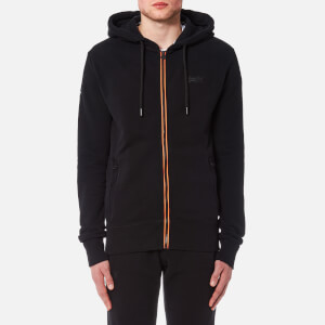 Superdry Men's Orange Label Urban Flash Zip Hoody - Black