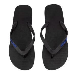 Jack & Jones Men's Plain Flip Flops - Anthracite/Turkish Sea