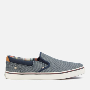 Wrangler Men's Legend Slip On Plimsolls - Blue Japan