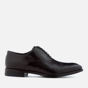 Paul Smith Men's Bertin Leather Brogue Toe Oxford Shoes - Black