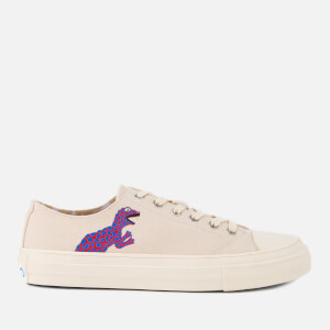PS by Paul Smith Women's Kinsey Dino Canvas Low Top Trainers - Off White