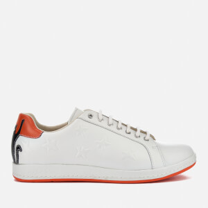 PS by Paul Smith Women's Lapin Leather Court Trainers - White