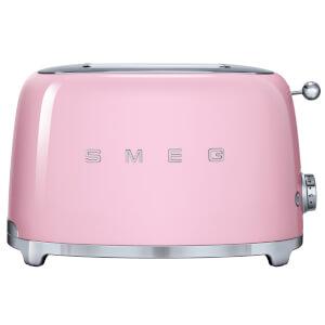 Smeg TSF01PKUK 2 Slice Toaster - Pink