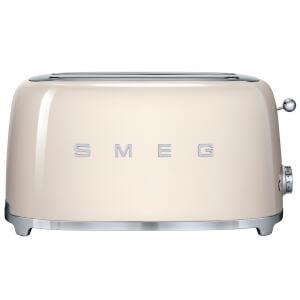 Smeg TSF02CRUK 4 Slice Toaster - Cream
