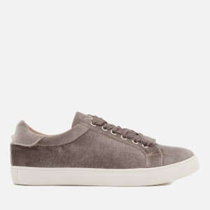 Miss KG Women's Lula Velvet Cupsole Trainers - Grey
