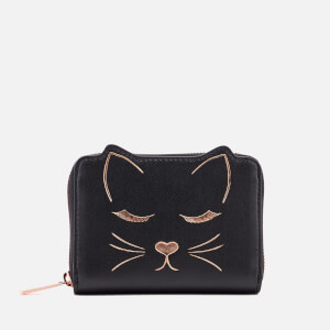 Ted Baker Women's Terica Cat Zip Small Purse - Black