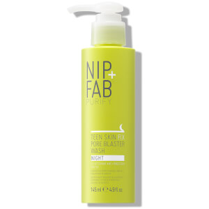 NIP+FAB Teen Skin Fix Pore Blaster Night Wash -puhdistusaine 145ml