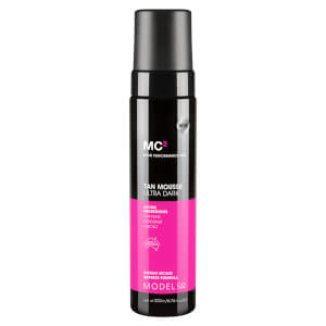 ModelCo MC2 Tan Mousse 200ml - Ultra Dark