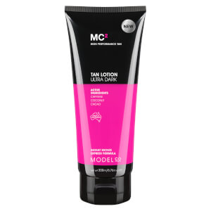 ModelCo MC2 Tan Lotion 200ml - Ultra Dark