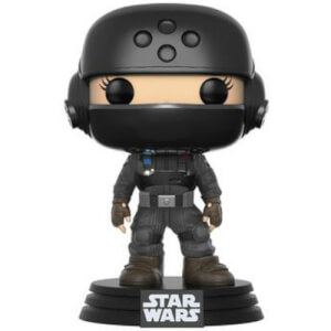 Star Wars: Rogue One Jyn Disguise w/Helmet NYCC 2017 EXC Pop! Vinyl Figure
