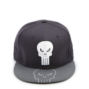c2239d53e5a043 New Era Character Tone The Punisher Snapback Hat