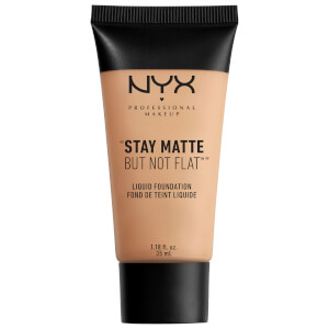 Base Líquida Stay Matte But Not Flat da NYX Professional Makeup (Vários tons)