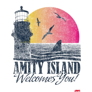 Affiche Amity Welcomes You - Les Dents de la Mer