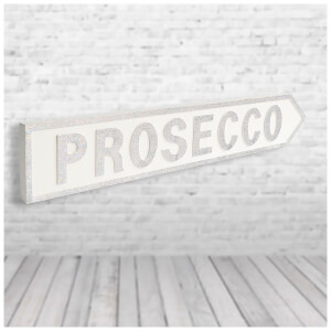 Shh Interiors 'Prosecco' Vintage Street Sign