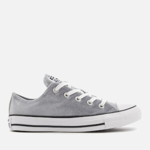 Converse Women's Chuck Taylor All Star Ox Trainers - Wolf Grey/White/White