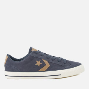 Converse Men's Star Player Ox Trainers - Sharkskin/Khaki/Egret