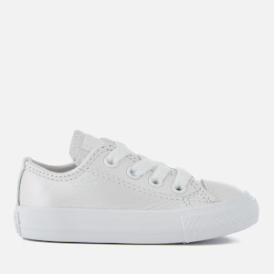 Converse Toddlers' Chuck Taylor All Star Ox Trainers - White/White/White
