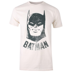 DC Comics Men's Batman Vintage T-Shirt - Natural