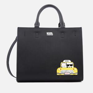 Karl Lagerfeld Women's Mini NYC Tote Bag - Black