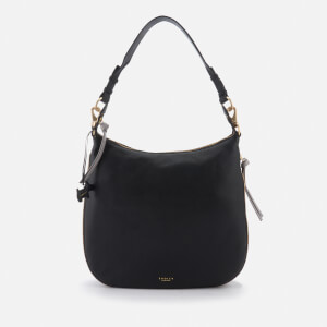 Radley Women's Pudding Lane Large Ziptop Hobo Bag - Black