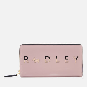 Radley Women's All That Glitters Large Zip Around Matinee Purse - Cobweb