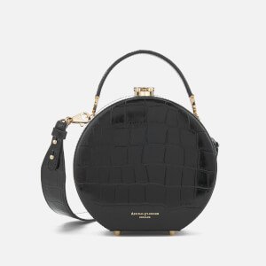 Aspinal of London Women's Hat Box Mini Bag - Black