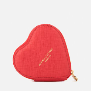 Aspinal of London Women's Heart Coin Purse - Dahlia
