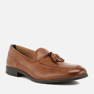Hudson London Men's Dickson Leather Tassel Loafers - Tan: Image 2