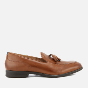 Hudson London Men's Dickson Leather Tassel Loafers - Tan