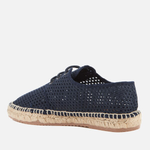 Hudson London Men's Benson Mesh Espadrilles - Navy: Image 4