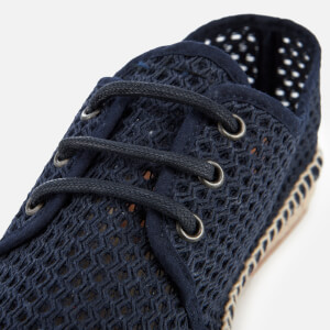 Hudson London Men's Benson Mesh Espadrilles - Navy: Image 6