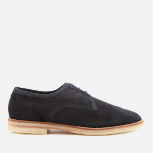 Hudson London Men's Agadir Suede Derby Shoes - Navy