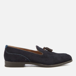 Hudson London Men's Dickson Suede Tassel Loafers - Navy