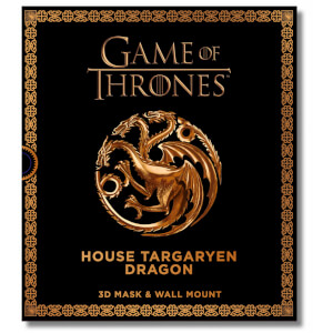 Game of Thrones – Masque de dragon en 3D – Maison Targaryen