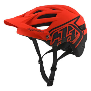 Troy Lee Designs A1 MIPS Classic MTB Helmet - Orange