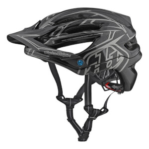 Troy Lee Designs A2 MIPS Pinstripe 2 MTB Helmet - Grey