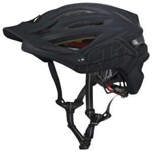 Troy Lee Designs A2 MIPS Decoy MTB Helmet - Black