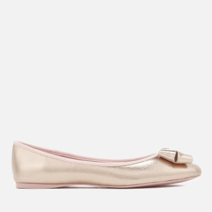 Ted Baker Women's Immet 2 Metallic Ballet Flats - Rose Gold