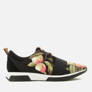 Ted Baker Women's Cepap Runner Trainers - Peach Blossom Black
